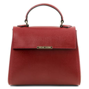 TL Small Saffiano leather Top Handle Bag_1
