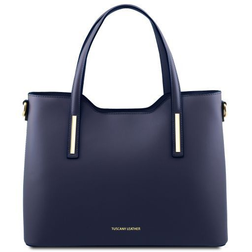 Olimpia Smooth Leather Tote (M)_8