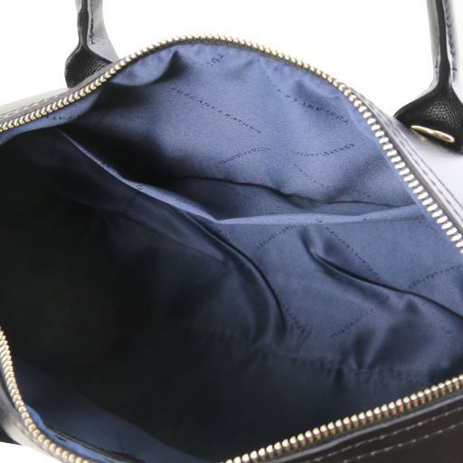 Elena Smooth Leather Boston Bag_10