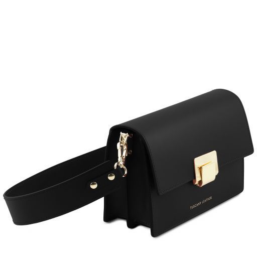 Adele Smooth Leather Clutch_14