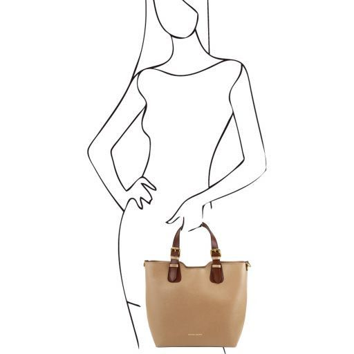 TL Saffiano Leather Tote_9