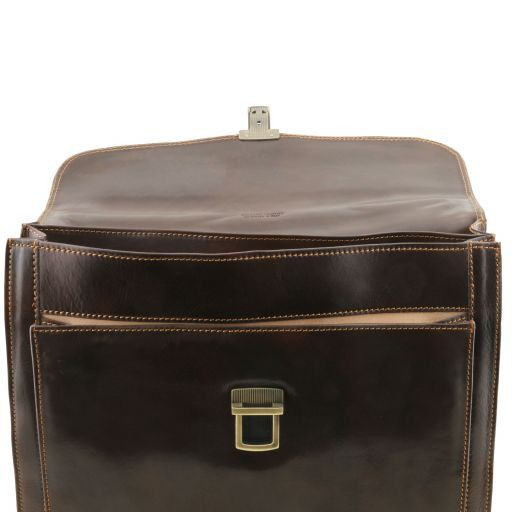 Napoli Vegetable Tanned Leather Briefcase_3
