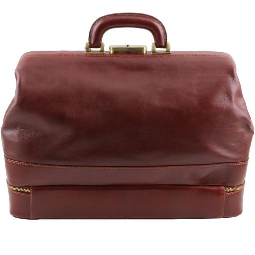 Giotto Vegetable Tanned Leather Doctor bag_4