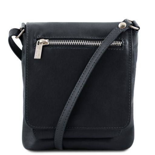 Sasha Unisex Soft Leather Messenger Bag_9