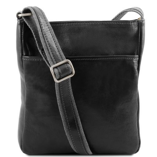 Jason Vegetable Tanned Leather Messenger Bag for Men_9