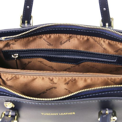 Aura Smooth Leather Satchel_14