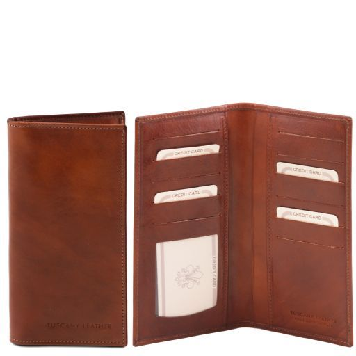 Full Grain Leather Bifold Vertical  Wallet_5