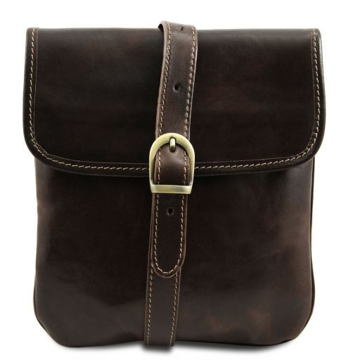 Joe Vegetable Tanned Leather Crossbody Bag _8
