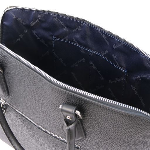 Magnolia Hammered Leather Women Business Bag _21