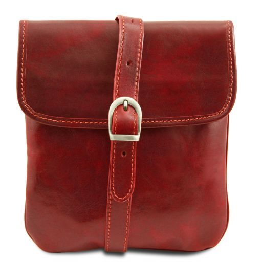 Joe Vegetable Tanned Leather Crossbody Bag _9
