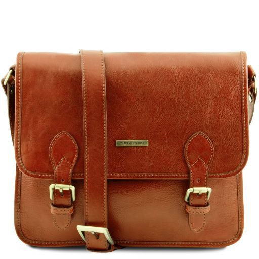 TL Postman Vegetable Tanned Leather Messenger Bag_10