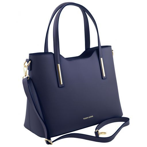 Olimpia Smooth Leather Tote (M)_9