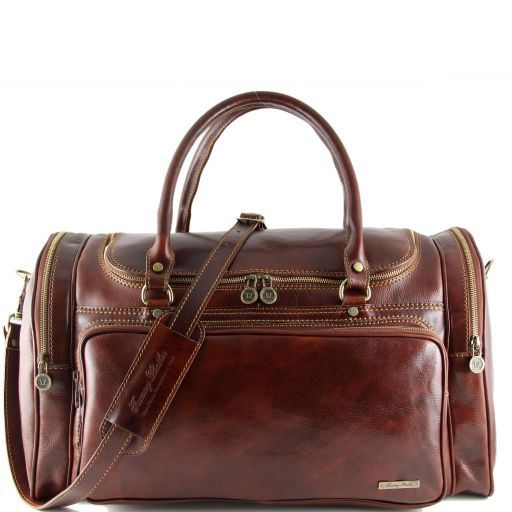 Praga - Travel leather bag_5