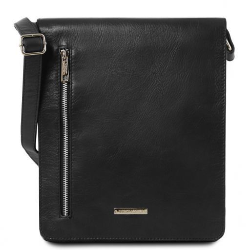 Cesare Soft Leather Messenger Bag_17