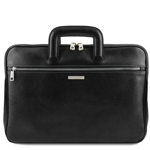 Caserta Vegetable Tanned Leather Leather Briefcase_9