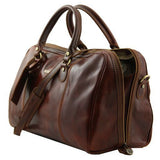 Paris - Travel leather duffle bag_5