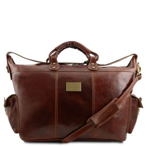 Porto - Travel leather weekender bag_1