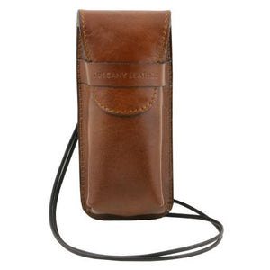 Exclusive Full Grain Leather eyeglasses/Smartphone/Watch holder_1