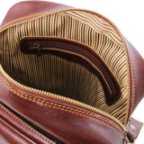 Oscar Vegetable Tanned Leather Messenger Bag for Men_5