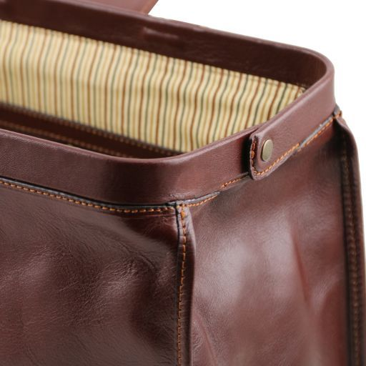 Raffaello Vegetable Tanned Leather Doctor bag_8