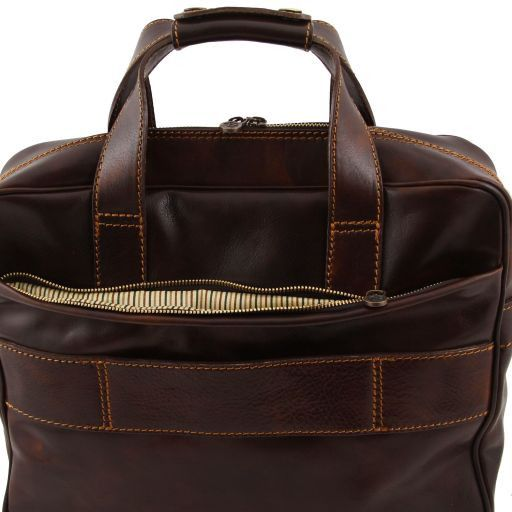 Reggio Emilia Vegetable Tanned Leather Laptop Case_7