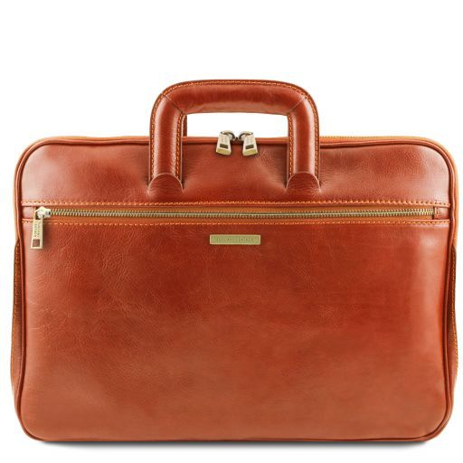 Caserta Vegetable Tanned Leather Leather Briefcase_11