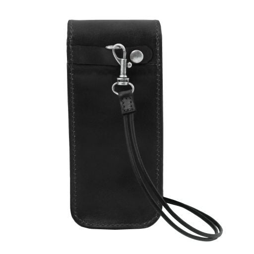 Exclusive Full Grain Leather eyeglasses/Smartphone/Watch holder_21