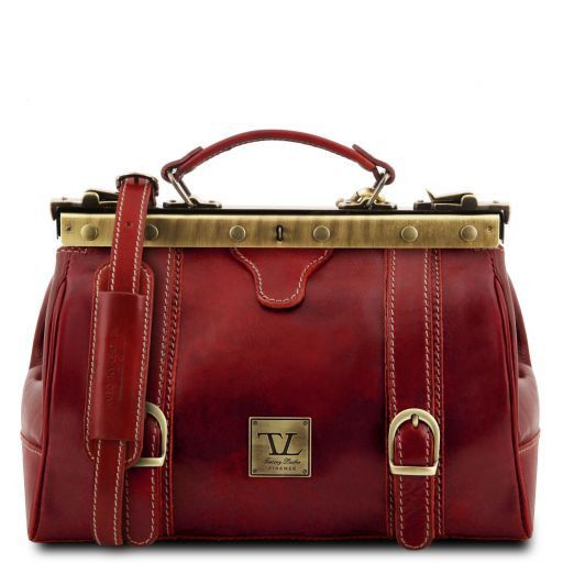 Monalisa Vegetable Tanned Leather Gladstone Doctor bag_11