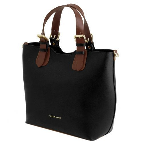 TL Saffiano Leather Tote_17