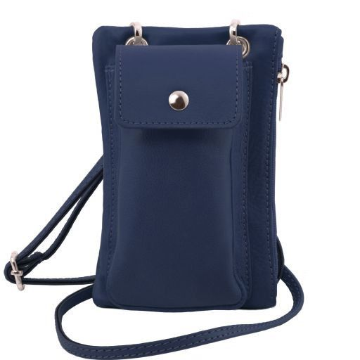 TL Soft Leather Phone Pouch Mini Cross Bag_1