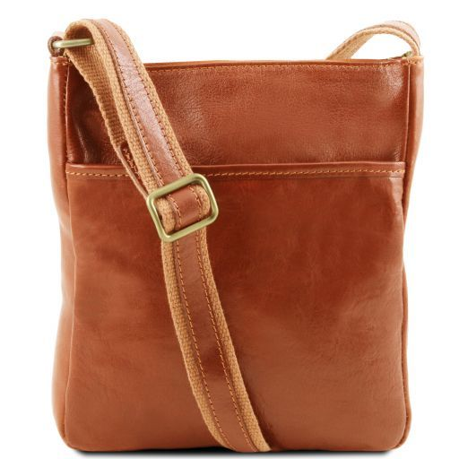 Jason Vegetable Tanned Leather Messenger Bag for Men_8