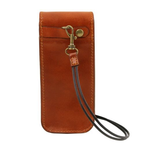Exclusive Full Grain Leather eyeglasses/Smartphone/Watch holder_13