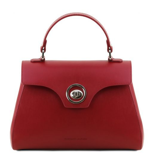 TL Smooth Leather Top Handle Bag_4