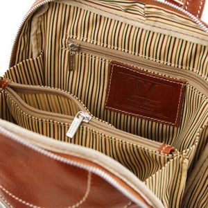 Manila Vegetable Tanned Leather Backpack_2
