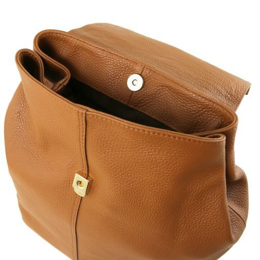 TL Soft Leather Backpack For Women_11
