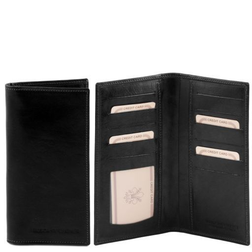 Full Grain Leather Bifold Vertical  Wallet_4