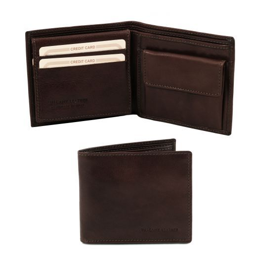 Full Grain Leather Trifold  Wallet_5
