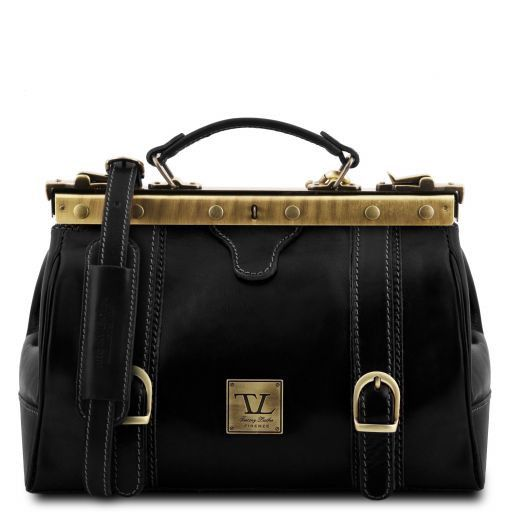 Monalisa Vegetable Tanned Leather Gladstone Doctor bag_8