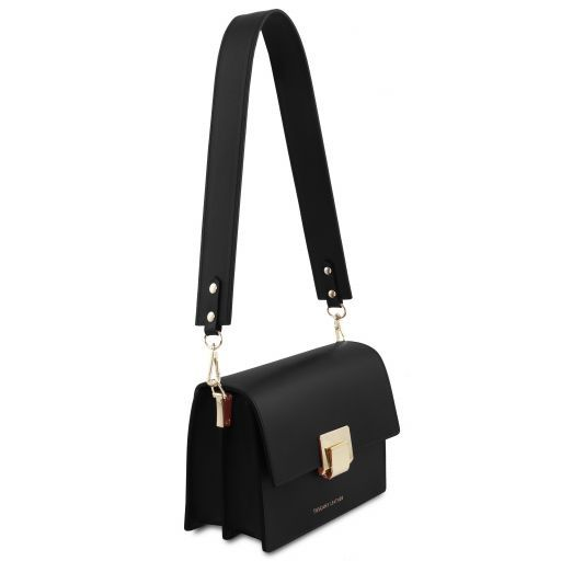 Adele Smooth Leather Clutch_15