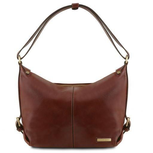 TL Embossed Leather Hobo Bag_29