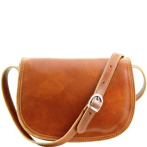 Isabella Vegetable Tanned Leather Shoulder Bag_10