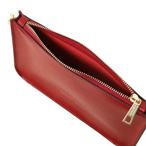 Cassandra Smooth Leather clutch handbag_3