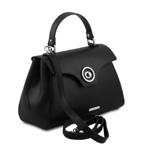 TL Smooth Leather Top Handle Bag_17