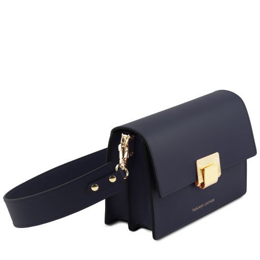 Adele Smooth Leather Clutch_8