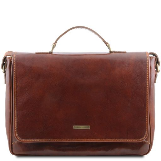 Padova Vegetable Tanned Leather Laptop Case_1