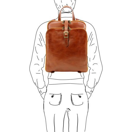 Taipei Vegetable Tanned Leather Backpack_8