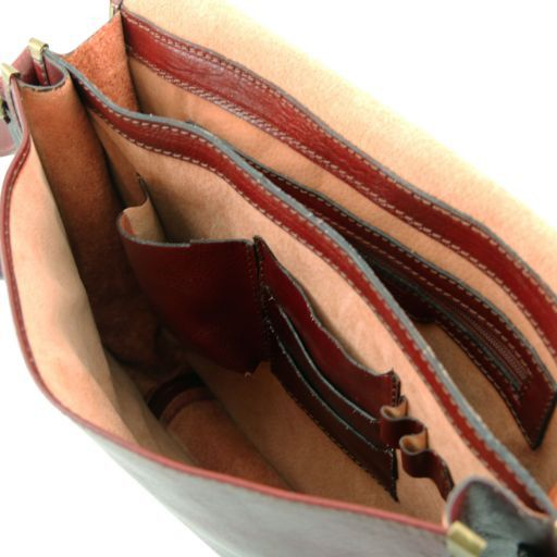 TL Postman Vegetable Tanned Leather Messenger Bag_7