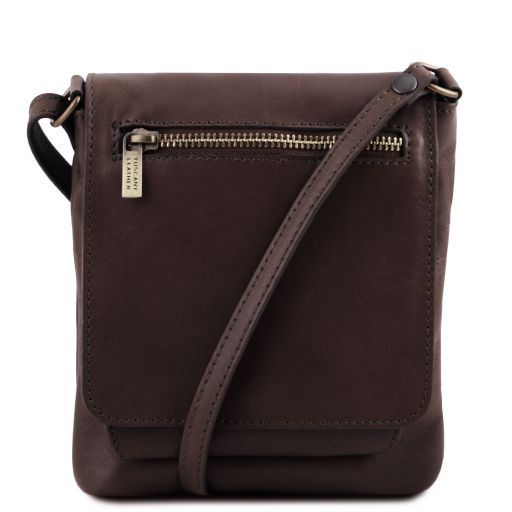 Sasha Unisex Soft Leather Messenger Bag_11
