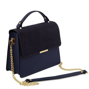Irene Smooth Leather Top Handle Bag_2