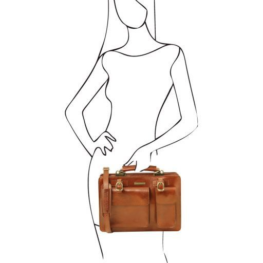 Tania Vegetable Tanned Business Bag (L)_15